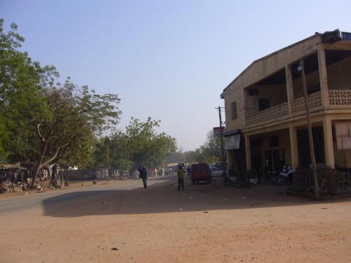 Типичный городок в Камеруне