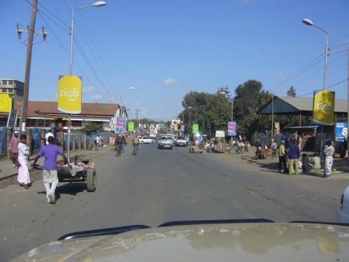 Вот такой городок в Танзании. Найдите 10 отличий от Камеруна!