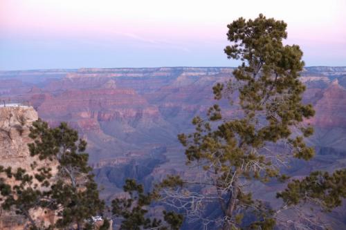 Гранд-каньон перед расветом